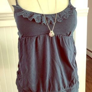 Navy blue Aeropostale tank top
